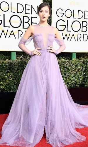 Globo de Ouro 2017: Hailee Steinfeld