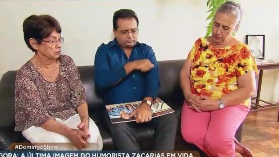 Irmã de Zacarias diz que Trapalhões nunca mais fizeram contato com família - Reprodução/TV Record