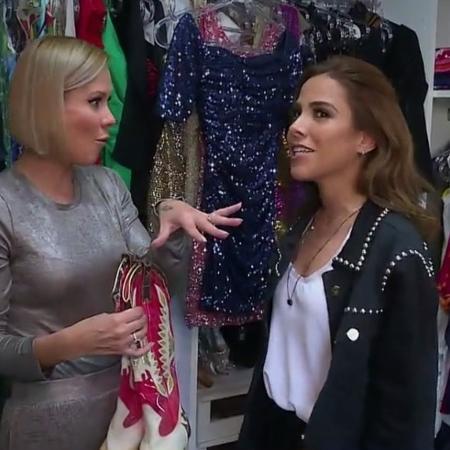 """Cantora Wanessa Camargo abre seu closet para o """"Vídeo Show"""" - Reprodução/TV Globo"""