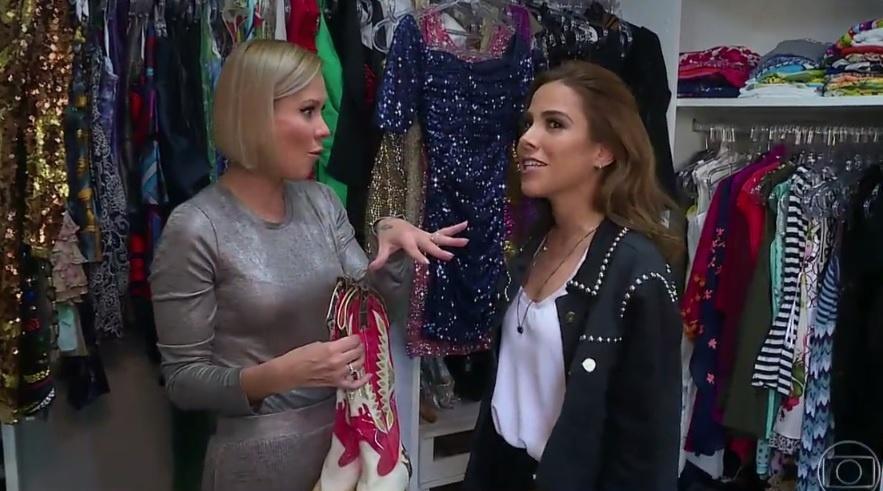 """Cantora Wanessa Camargo abre seu closet para o """"Vídeo Show"""""""