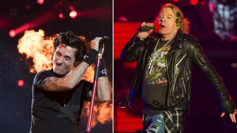 """Capital Inicial e Guns N"""" Roses fizeram os melhores shows do Rock in Rio segundo o público do UOL - UOL"""