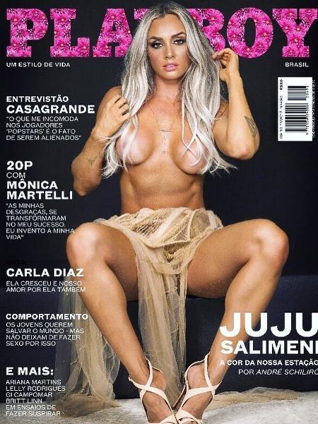 Capa da Playboy com Juju Salimeni - Reprodução/Instagram JujuSalimeni