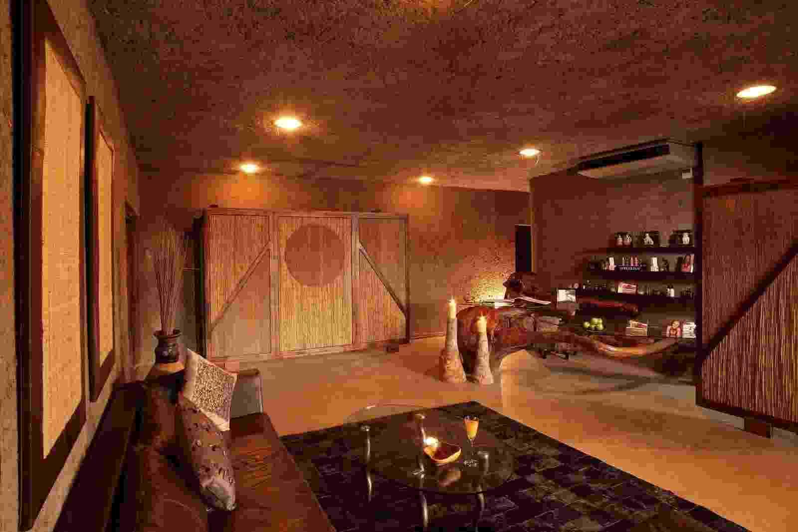 Hotel Sabi Sabi Earth Lodge, onde Marina e Xandinho ficaram por três dias em uma suíte luxuosa - Divulgação