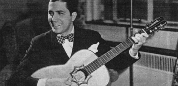O cantor de tango Carlos Gardel