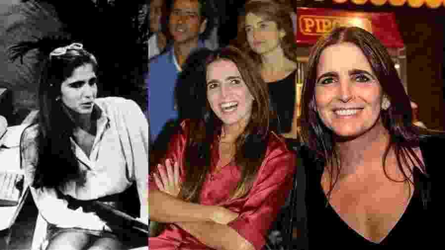"""Malu Mader já era prata da casa em 1988, aos 22 anos, quando foi a protagonista de """"Fera Radical"""" (à esquerda). Quinze anos depois, estrelou """"Celebridade"""". Mais 15 anos se passaram e a atriz continua com a mesma cara de menina, aos 51 - Cícero P.R, Macarena Lobos/Folhapress e André Horta"""