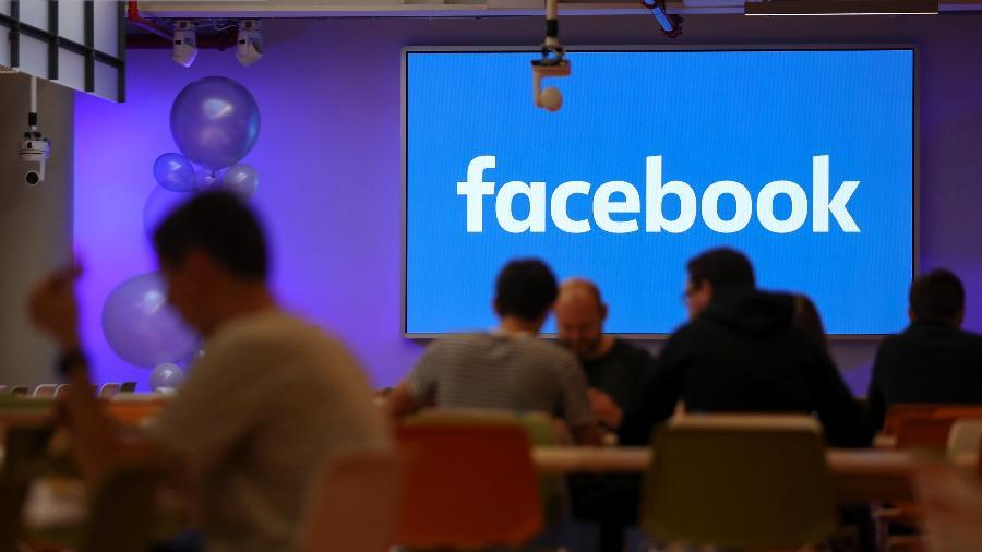 O escritório do Facebook em Londres - AFP
