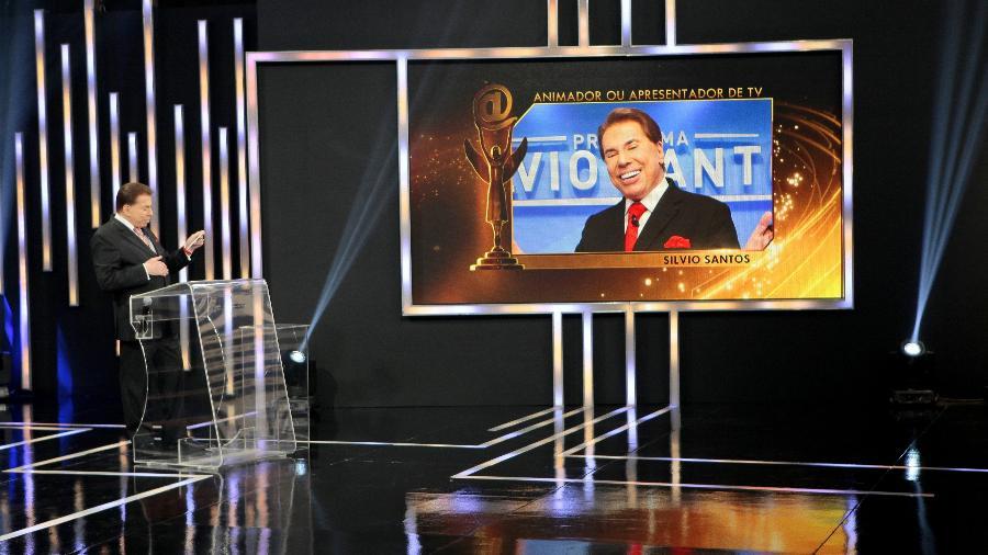 Silvio Santos apresenta o Troféu Imprensa: SBT manterá a grade de programação como está em 2018 - Lourival Ribeiro/SBT