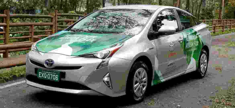 Toyota Prius Flex pode ser vendido no Brasil até o fim do ano e é maior símbolo de carro sustentável do país - Divulgação