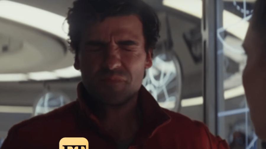 """Oscar Isaacs leva um dos 41 tapas de Carrie Fisher nos bastidores de """"Star Wars: Os Últimos Jedi"""" - Reprodução"""