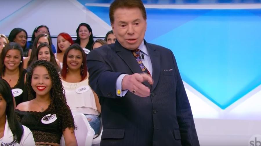 """Silvio Santos falou sobre sua vida durante o """"Programa Silvio Santos"""" - Reprodução/TV Globo"""