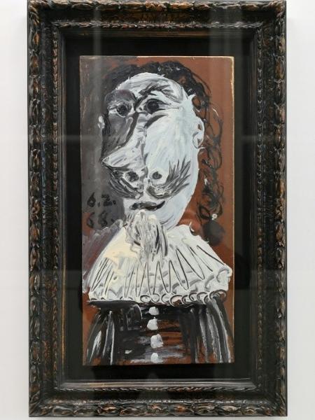 Quadro de Picasso adquirido por milhares de pessoas - Harold Cunningham/AFP