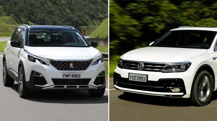 SUVs equipadas e com espaço para 7 | UOL Carros destrincha Peugeot 5008 e Volkswagen Tiguan; assista