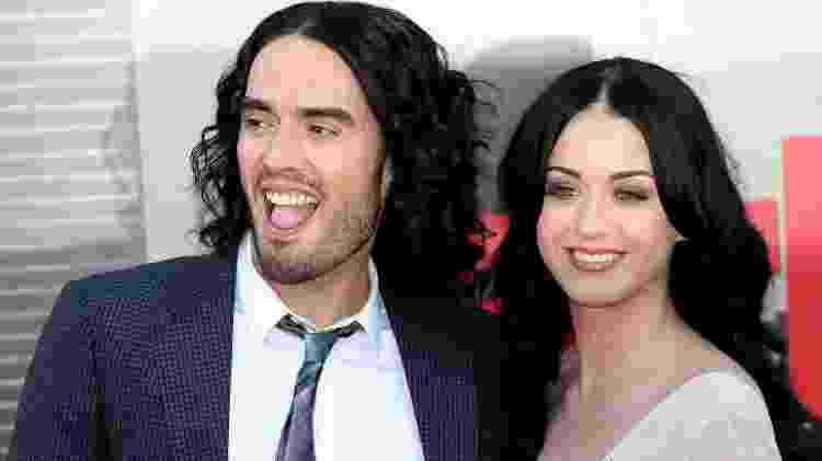 Katy Perry e Russell Brand - Chris Jackson/Getty Images - Chris Jackson/Getty Images