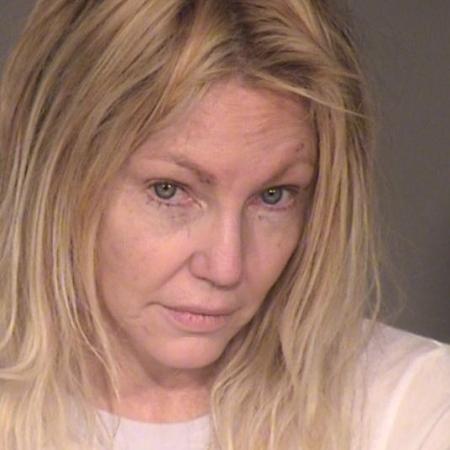 Heather Locklear em sua prisão em fevereiro - Reprodução