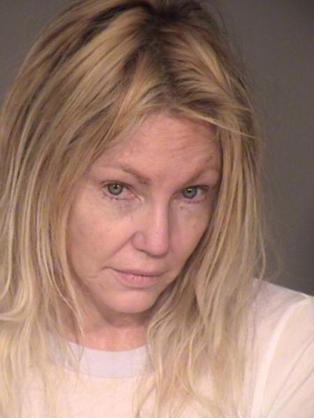 Mugshot - Heather Locklear presa em fevereiro - Reprodução