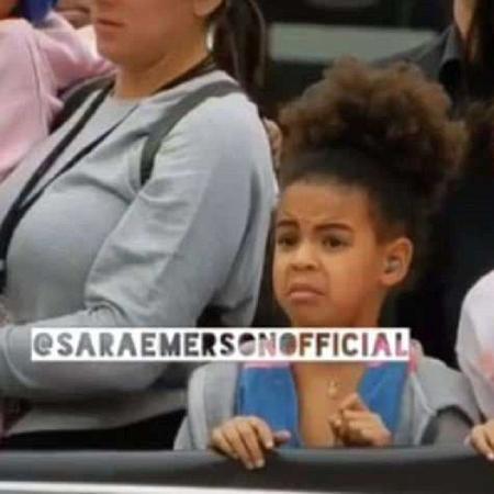 Blue Ivy Carter, filha de Beyoncé e Jay-Z - Reprodução