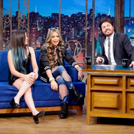 "MC Melody e Bella Angel no ""The Noite"" - Gabriel Cardoso/SBT"
