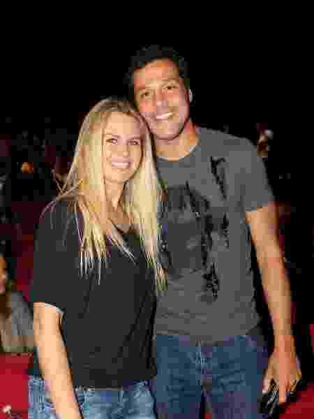 """Susana Werner e Júlio César prestigiam sessão especial de """"A Noviça Rebelde"""" no Rio - Eny Miranda/Divulgação - Eny Miranda/Divulgação"""