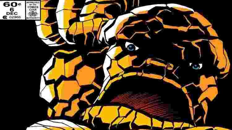 O Coisa é um herói da Marvel - Reprodução - Reprodução