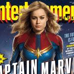 Brie Larson como Capitã Marvel - Divulgação