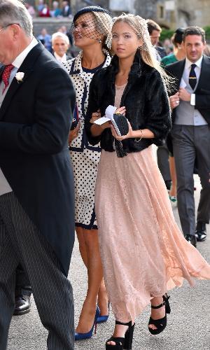 Kate Moss e a filha, Lila Grace Moss