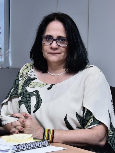 A ministra Damares Alves foi acusada de agressão por um vendedor em Brasília, na última semana - Rafael Carvalho/Divulgação/Governo de transição