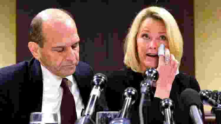 Heather Unruh acusa Kevin Spacey de abusar sexualmente de seu filho  - AFP