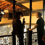 """Leonardo DiCaprio e Quentin Tarantino em """"Once Upon a Time in Hollywood"""" - Reprodução"""