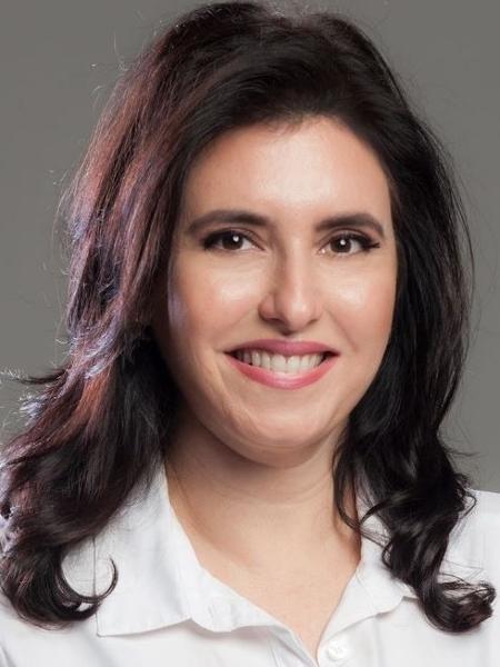 A senadora Simone Tebet (MDB-MS) - Reprodução/Facebook