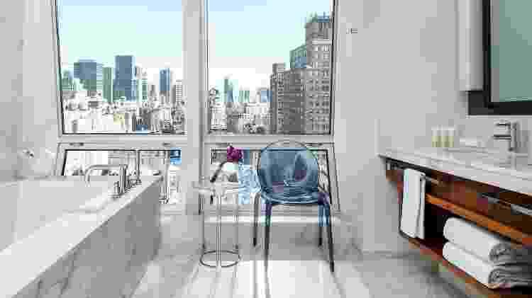 Suíte presidencial do hotel The Langham, em Nova York - Michael Weber/The Langham - Michael Weber/The Langham