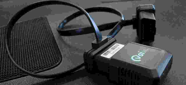 """O """"coração"""" do VAI é um dispositivo conectado ao veículo que tem sensores de movimento, GPS e chip para transmissão de dados - Divulgação"""