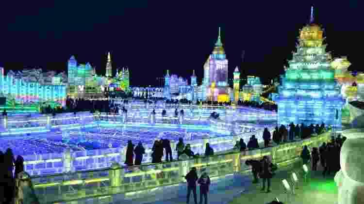 No inverno, a temperatura em Harbin costuma passar dos -20ºC - JRpixels/Getty Images