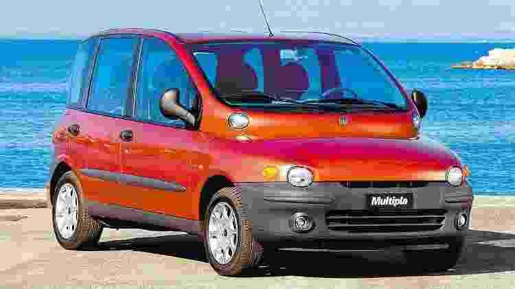 Fiat Multipla - Divulgação - Divulgação