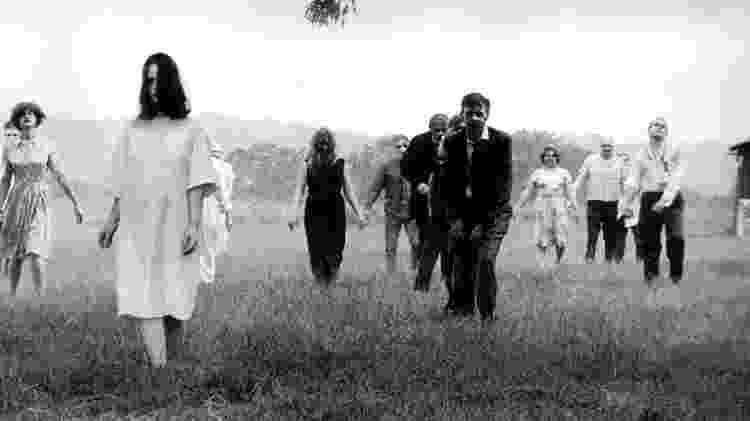 "O terror e os zumbis mudaram drasticamente depois de ""A Noite dos Mortos-Vivos"", de 1968 - Image Ten/Kobal/REX/Shutterstock"