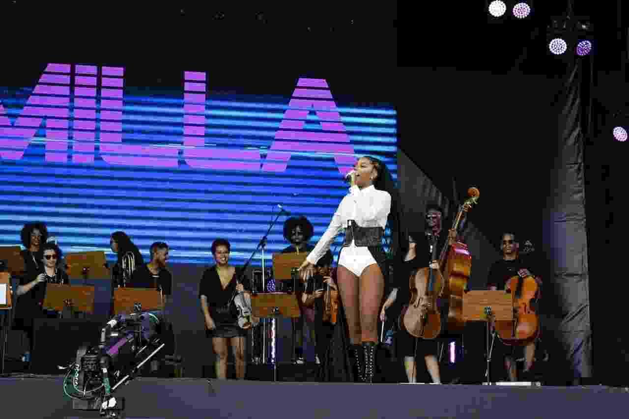 Apresentação de Ludmila no Rock in Rio - Romulo Melo