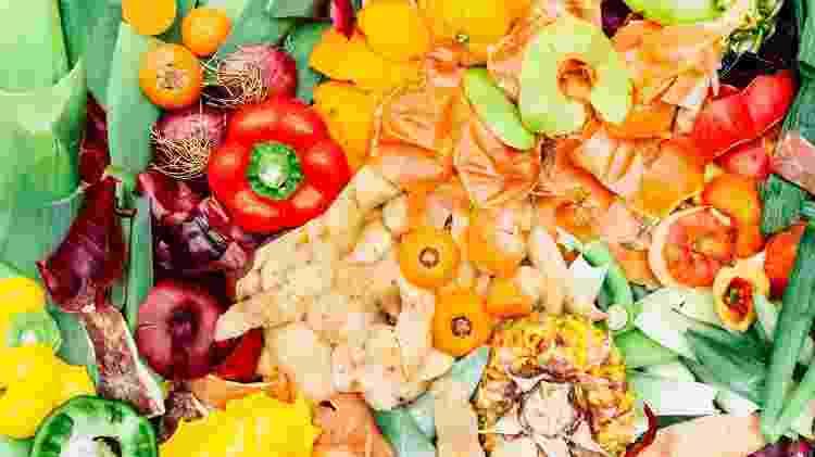 cascas de frutas e legumes - lucentius/iStock - lucentius/iStock