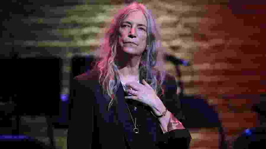 A cantora americana Patti Smith - WireImage