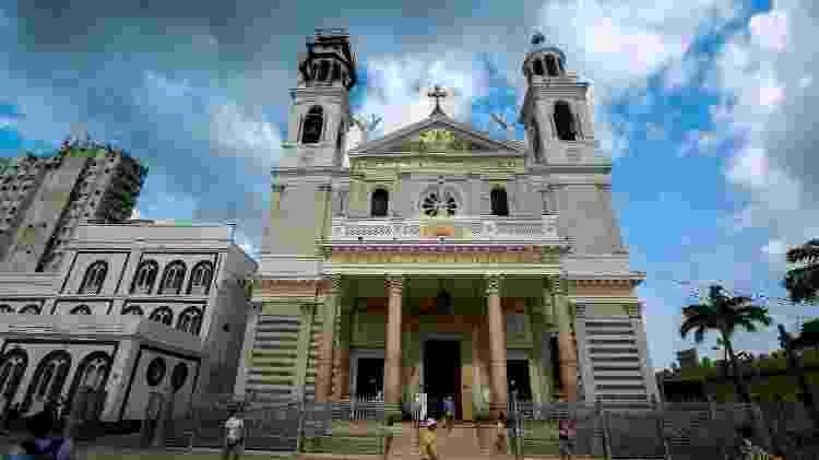 Basílica Santuário de Nazaré, em Belém, no Pará - Carlos Borges Moire - Carlos Borges Moire