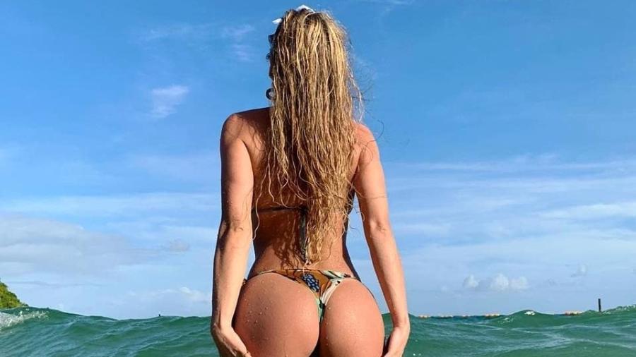 Livia Andrade, em descanso em Salvador - Reprodução/ Instagram