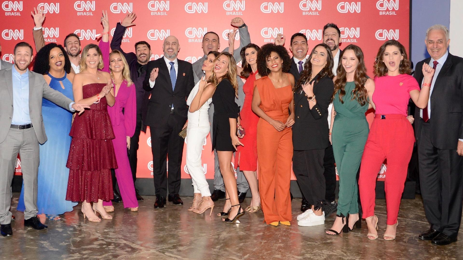 Resultado de imagem para Estreia da CNN Brasil (15/03/2020
