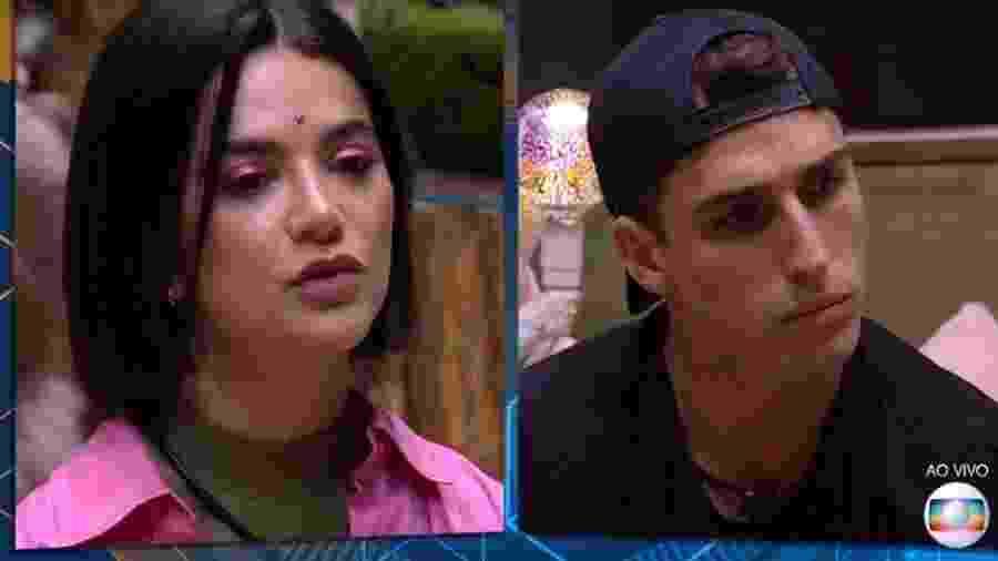"""Manu e Prior no """"BBB 20"""" - Reprodução/TV Globo"""