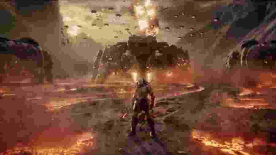 """Darkseid no """"Snyder Cut"""" de """"Liga da Justiça"""" - Reprodução/Twitter"""