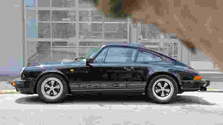 Porsche 911 de Teco Caliendo - Acervo pessoal - Acervo pessoal
