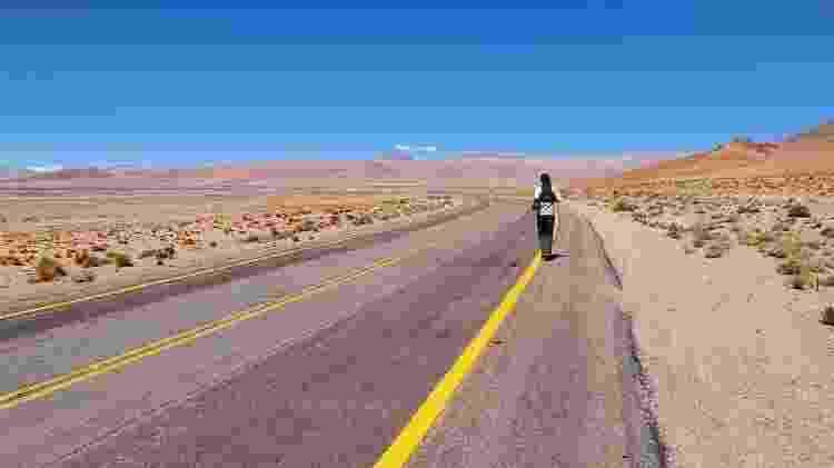 Juan corre de cinco a seis dias seguidos, muitas vezes em condições extremas - Arquivo pessoal - Arquivo pessoal