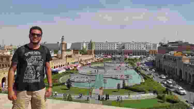 Danniel em Erbil, no Iraque - Arquivo pessoal - Arquivo pessoal