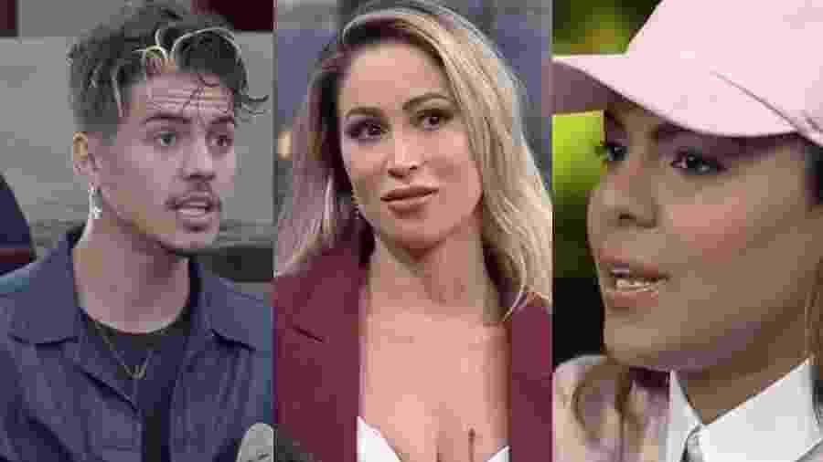 A Fazenda 2020: Biel, Carol Narizinho e Tays Reis estão na roça - Reprodução/RecordTV