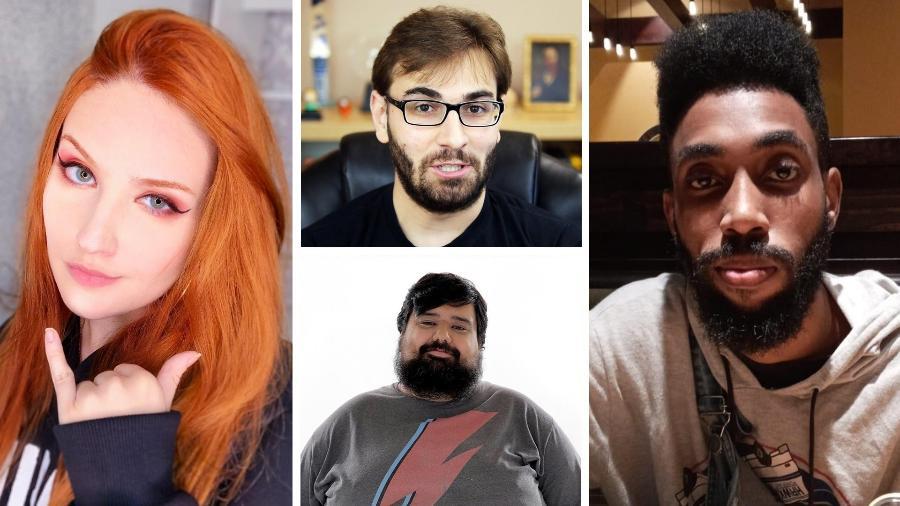 Streamers como Haru, BRKsEDU, Totoro e Shokito falaram sobre a nova geração de Xbox - Arte/UOL