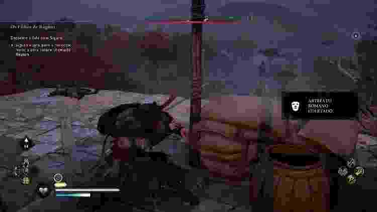 Assassin's Creed Valhalla Missão - Daniel Esdras/GameHall - Daniel Esdras/GameHall