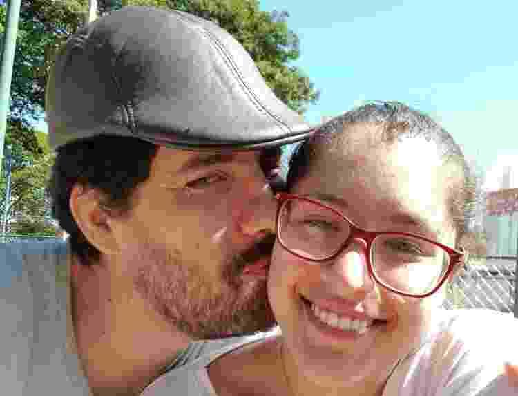 Tadeu e a namorada - Arquivo Pessoal - Arquivo Pessoal