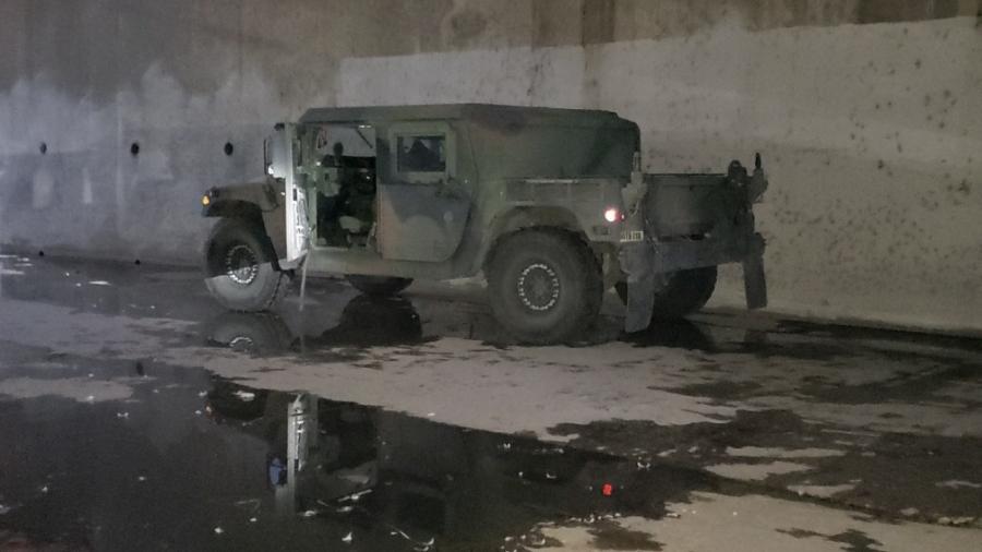 Humvee é encontrado em Los Angeles - Divulgação